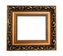 Antique empty picture frame