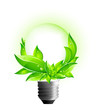 3D Eco Concept - Environmental Light Bulb
