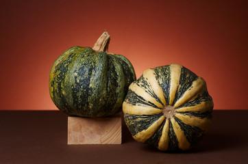 Studio shot of pumpkins