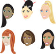 Straight Hairstyles