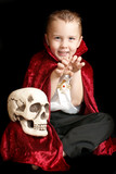 Little Vampire With Scull