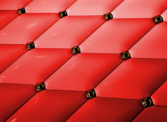 Picture of a red tile background