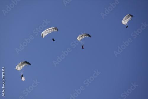 Leinwandbild Motiv skydive