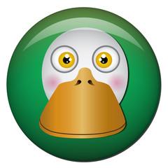 Chapa cabeza de pato