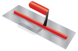 a vector image of an isolated plasterers trowel