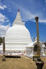 Thuparamaya Temple, Anuradhapura, Sri Lanka