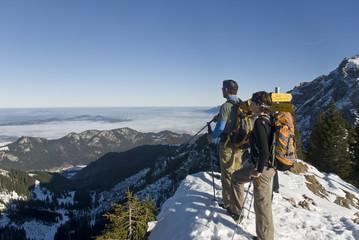 Bergtour im Frühwinter