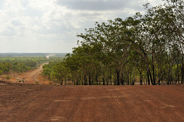 Typical australian Dirt Road
