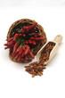 Peperoncini rossi freschi e secchi