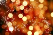 Abstract background of christmas lights and stars