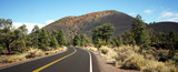 A Road to Sunset Crater Volcano National Monument