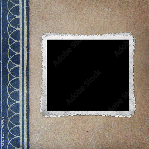 vintage background with frame