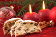 Christstollen zur Adventszeit
