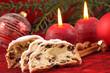 Christstollen zur Adventszeit