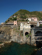 Riomaggiore - one of the cities of Cinque Terre in italy