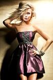 Fototapety Pretty blonde posing