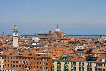 Red Tile Roofs in Venice