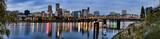 Fototapety Panorama of Portland, Oregon, USA.