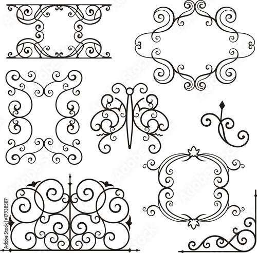 Wrought Iron Ornamental Designs