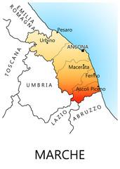 Regioni d'Italia - marche