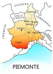 Regioni d'Italia - Piemonte