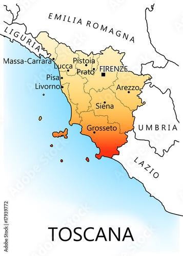 Regioni d'Italia - Toscana
