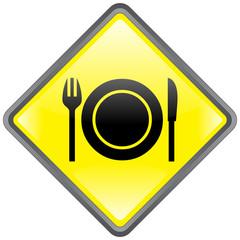 """Panneau """"Restaurant"""" -- """"Restaurant"""" Signpost"""