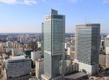 Warszawa - panorama miasta - 17950147