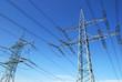 Leinwandbild Motiv two pylons