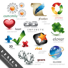 Design Elements and Icons