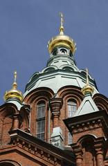 Uspenski Russian Orthodox cathedral, Helsinki, Finland