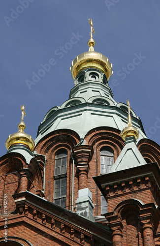 Uspenski Russian Orthodox cathedral, Helsinki, Finland