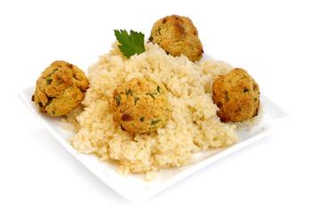 Couscous und Falafel