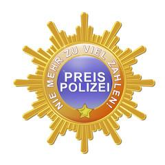 button label logo siegel orden preis polizei