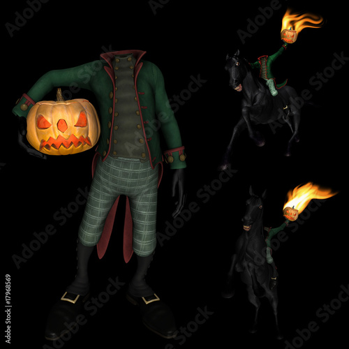Halloween Headless Horseman