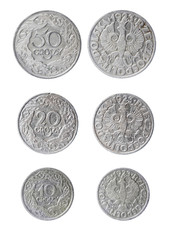 obsolete polish coins
