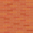 Brick wall seamless vector texture.