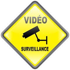 "Panneau ""VidéoSurveillance"""