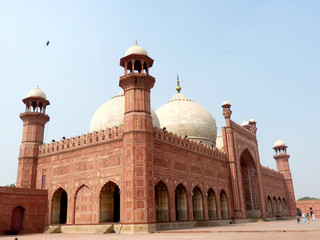 Badshahi Mosque Side View