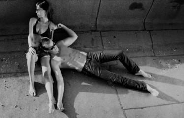 Hot Urban Couple