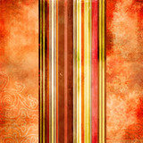 Fototapety retro colored paper with stripes
