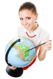 Study geography poster