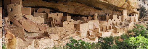 cliff palace ruins at mesa verde