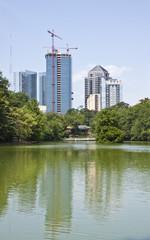 Atlanta Towers Past House on Lake