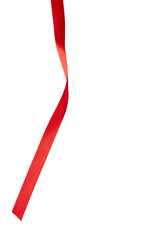 red ribbon decoration christmas