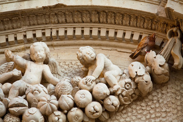 Lecce - Dettaglio del Duomo