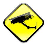 CCTV sign/symbol poster