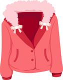 Fototapety winter jacket