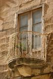 Maltese balcony poster