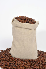 Kaffeesack Leinensack